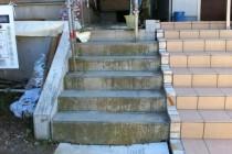 photo_04:既存階段、RC