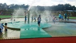 水遊びプール