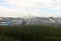 横浜港・ベイブリッジが一望できる展望台